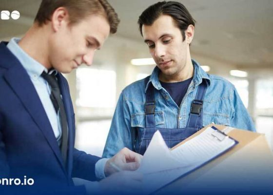 How to get courier contracts